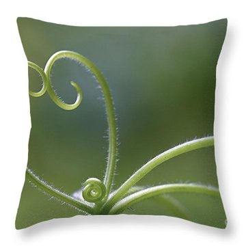 In Love With Nature Throw Pillow by Maria Ismanah Schulze-Vorberg