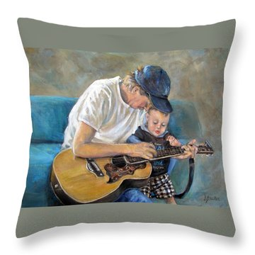 In Memory Of Baby Jordan Throw Pillow by Donna Tucker