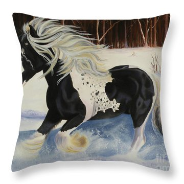In Memory Of Kayleen Throw Pillow