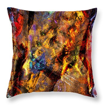 In My Mind  Throw Pillow by Mark Ashkenazi