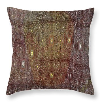 In Portals Of Dreams Throw Pillow by Jeff Swan