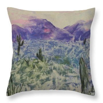 In Quietness And Trust Throw Pillow