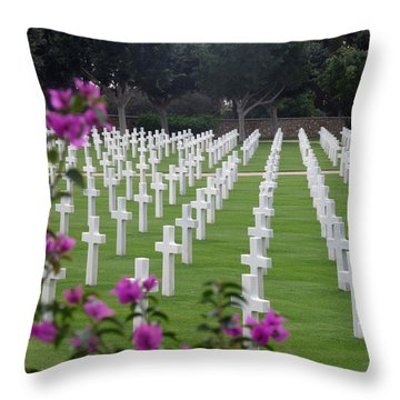 Throw Pillow featuring the photograph In Rememberance by Lucinda Walter