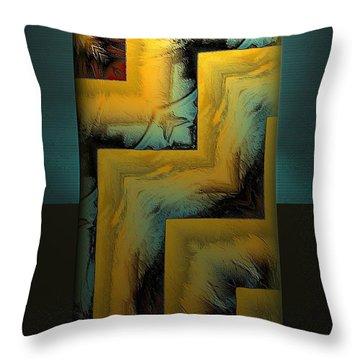 In Situ Throw Pillow
