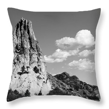 In-spire-d Throw Pillow by Charles Dobbs