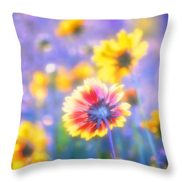 In Summer The Song Sings Itself Throw Pillow