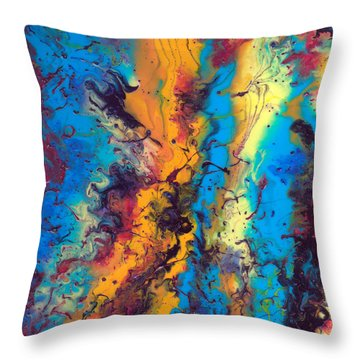 From The Beginning  Throw Pillow