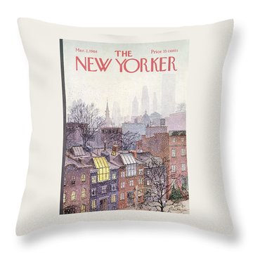 In The Borough Throw Pillow