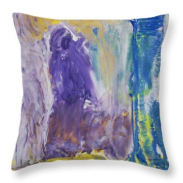 In The Catacombs Of Paris Throw Pillow