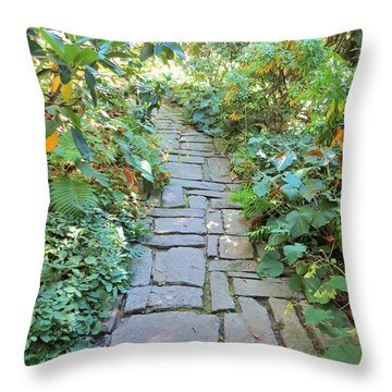 In The Cool Of The Morning Throw Pillow