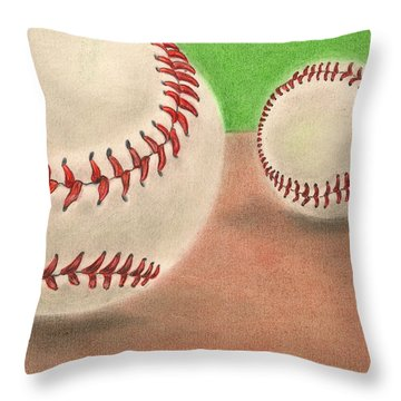 In The Dirt Throw Pillow