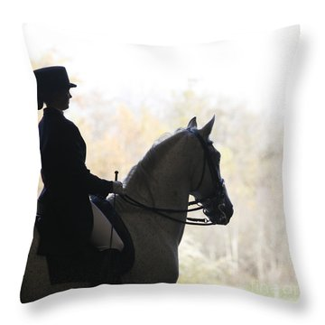 In The Distance Throw Pillow by Carol Lynn Coronios