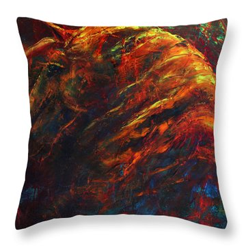 In The Fire Throw Pillow