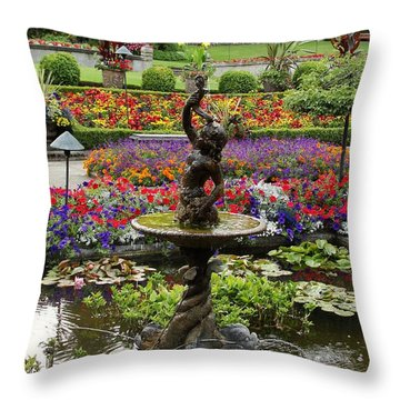 Throw Pillow featuring the photograph In Living Color by Natalie Ortiz