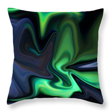 In The Grasp Throw Pillow by Ernie Echols