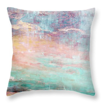 In The Light Of Each Other Throw Pillow by Jaison Cianelli