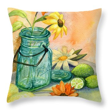 In The Lime Light Throw Pillow