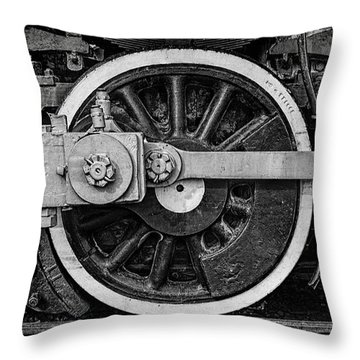 Throw Pillow featuring the photograph In The Middle by Ken Smith