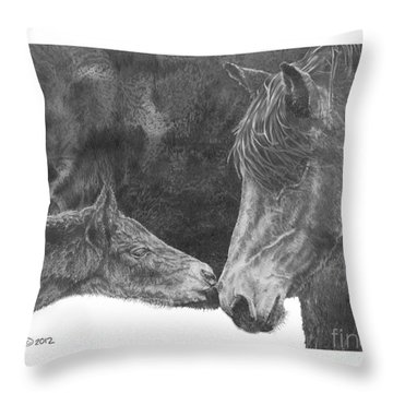 in the name of Love Throw Pillow