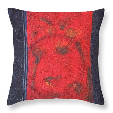 Throw Pillow featuring the painting In The Night Sky by Mini Arora