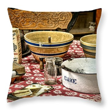 In The Old Kitchen Throw Pillow