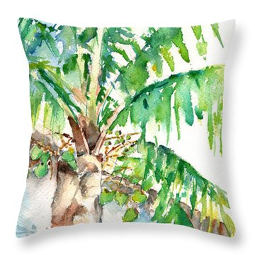 In The Palm Throw Pillow