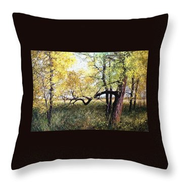 In The Refuge Throw Pillow