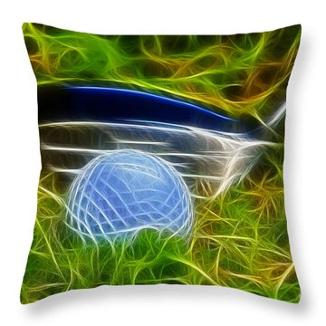 In The Rough Throw Pillow