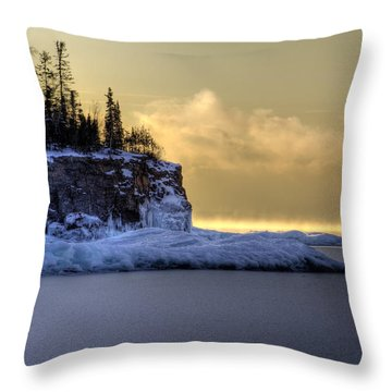 In The Shade Throw Pillow by Jakub Sisak
