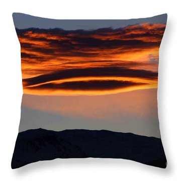 In The Spotlight Throw Pillow by Fiona Kennard