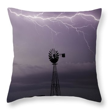 In The Still Of Night Throw Pillow