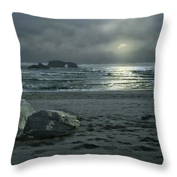 In The Still Of The Night Throw Pillow