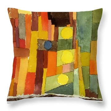 In The Style Of Kairouan Throw Pillow