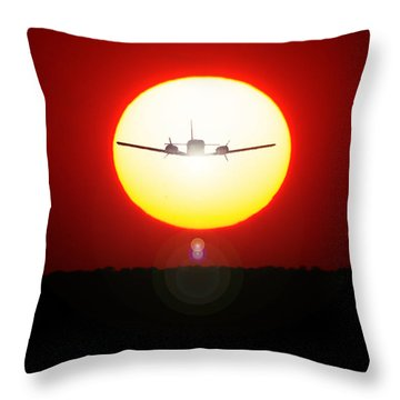 Throw Pillow featuring the photograph In The Sun by Paul Job