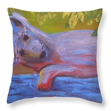 In The Tree Throw Pillow by Tim Townsend