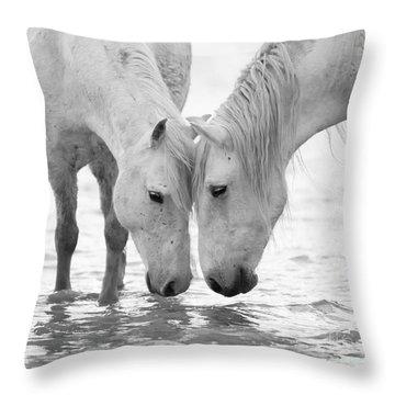 Black Horse Throw Pillows