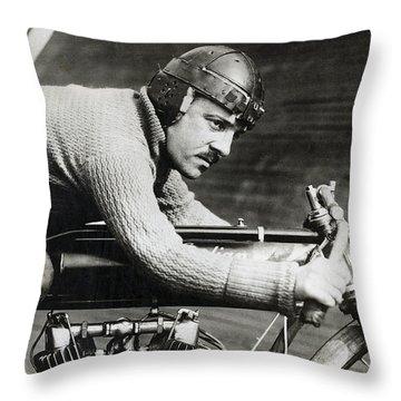 Harley Motorcycle Throw Pillows
