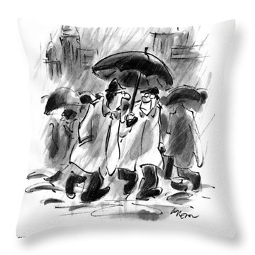 In These Cynical Times Throw Pillow
