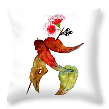 In Transition Throw Pillow by Leanne Seymour