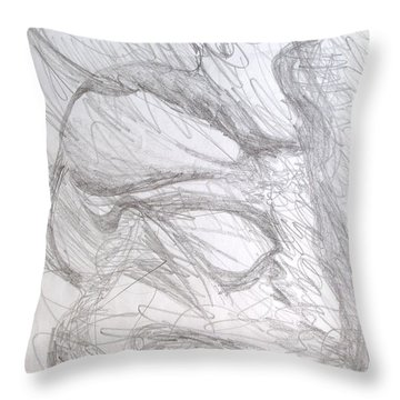 In Vitro Throw Pillow by Esther Newman-Cohen