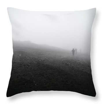 In Wind And Cloud Throw Pillow