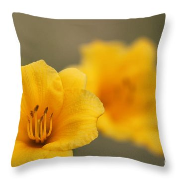 In Your Image Throw Pillow by Jennifer E Doll