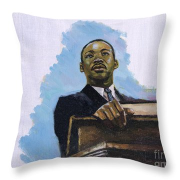 Inalienable Throw Pillow by Colin Bootman