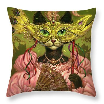 Incatneato Throw Pillow