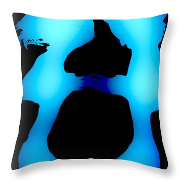 Incontro Throw Pillow by Victor Minca