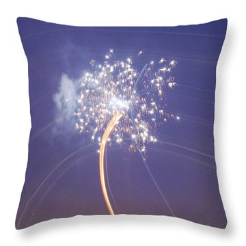 Throw Pillow featuring the photograph Independence Day by Jani Freimann