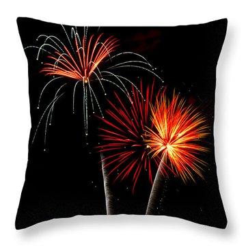 Independence Day  Throw Pillow by Saija  Lehtonen