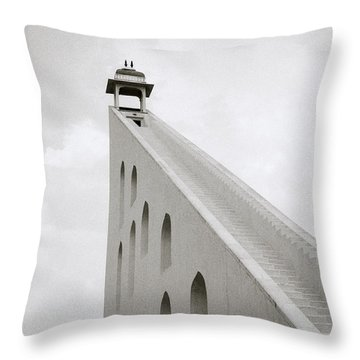 Simple Geometry Throw Pillow