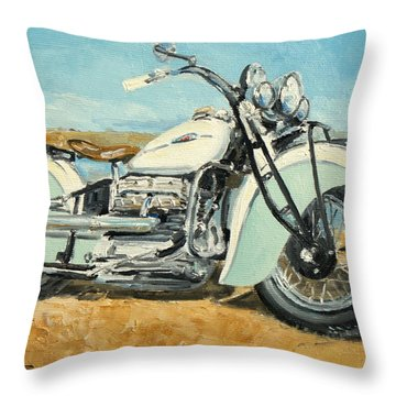Indian Four 1941 Throw Pillow