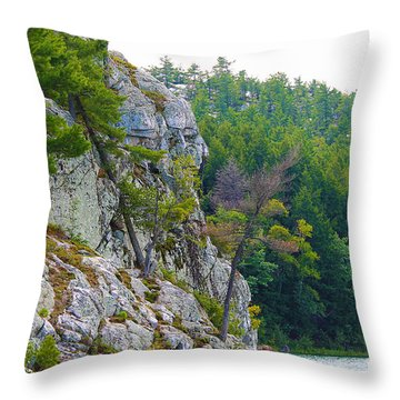 Indian Head In Killarney Throw Pillow